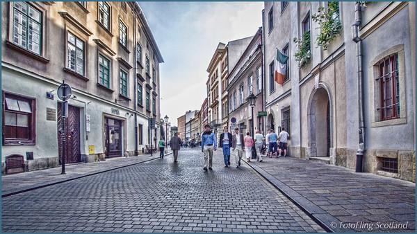 Street: Kraków, Poland