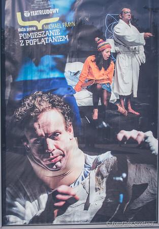 Poster:  Ludowy Theatre, Krakow