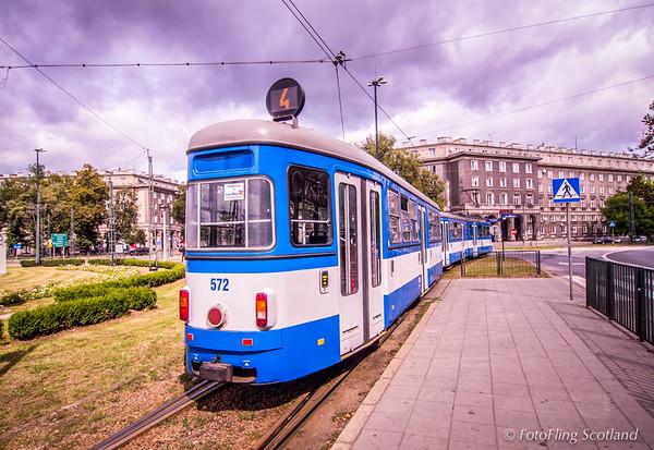 Tram to Nowa Huta