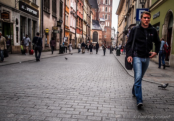 A walk through Krakow