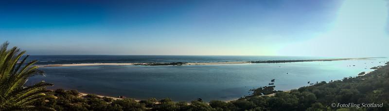 Pano View from Vila Nova de Cacela
