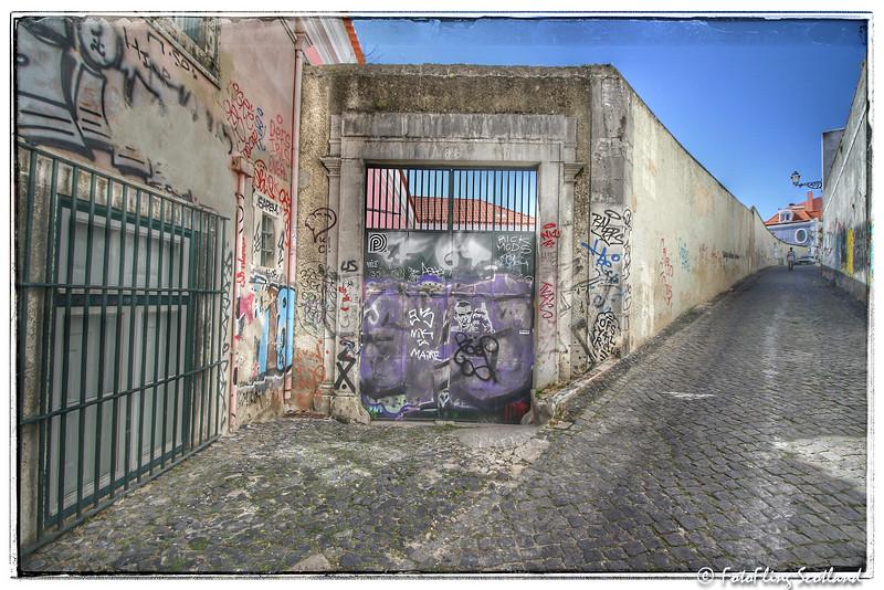 Back Street of Lisbon