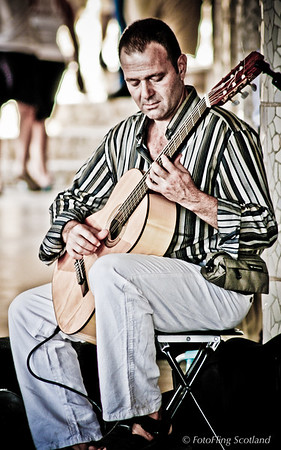 Musician in Barcelona