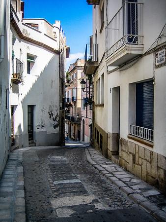 Back Street of Sitges