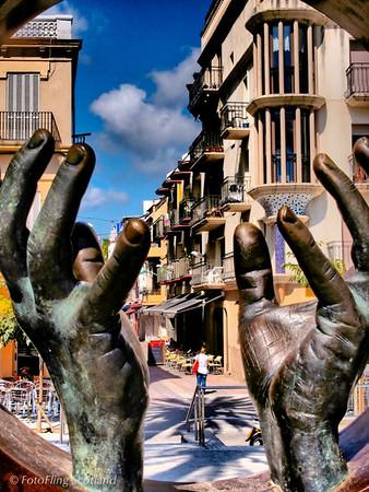 Hands Sitges, Spain