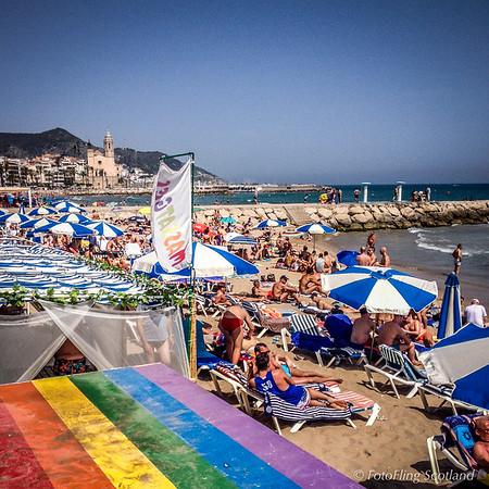 Gay Beach - Sitges, Spain