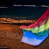 Rainbow Flag - Maspalmomas Beach