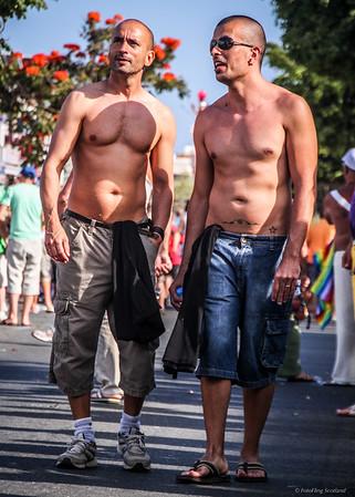 Shirtless in Gran Canaria