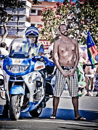 Police Protection Maspalomas Gay Pride 2010