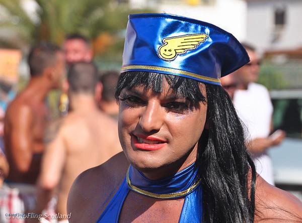 Hostess Maspalomas Gay Pride, Gran Canaria 2009