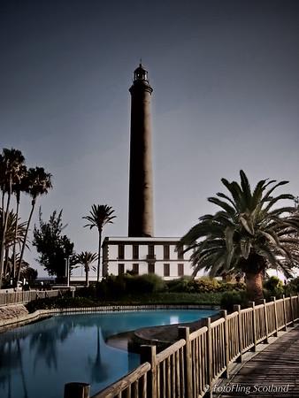 Maspalomas Lighthouse, Gran Canaria