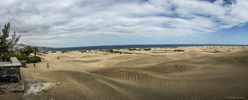 Maspalomas Dunes and Beach
