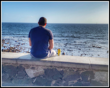 A Beer by the Sea