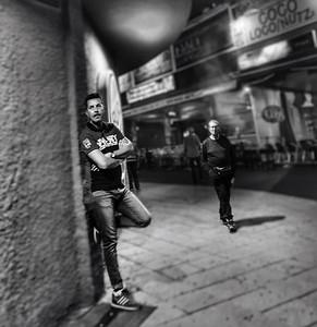 Men at Night