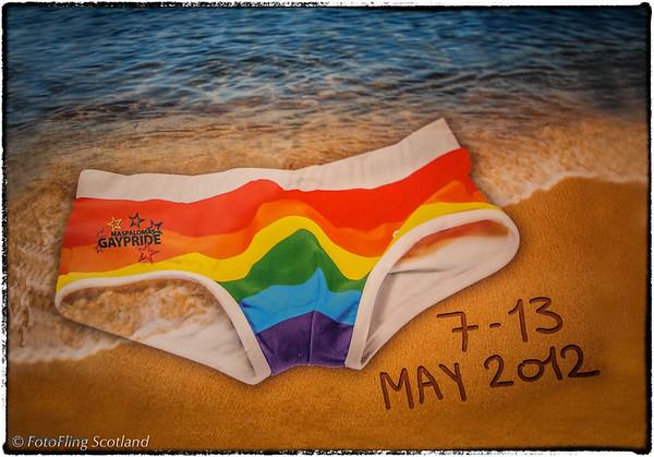 Maspalomas GayPride 2012 Enhanced screenshot of the 2012 poster for Maspalomas Gay Pride