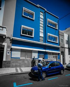 Very Blue in Las Palmas