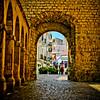 Gateway to Old Town Ibiza