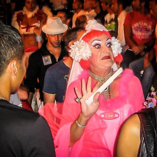 Ibiza Party Crowd