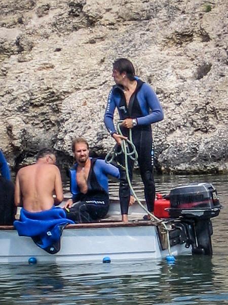 Boating in Portinatx