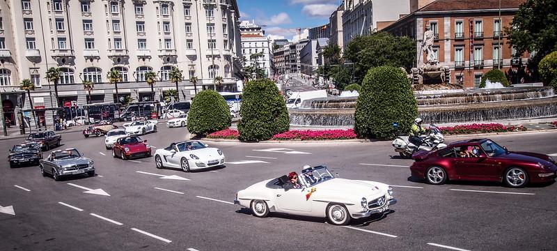Car Rally, Madrid