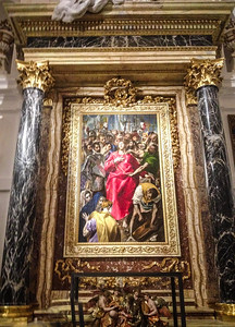 El Expolio (The Disrobing of Christ), a painting by El Greco dating from 1587
