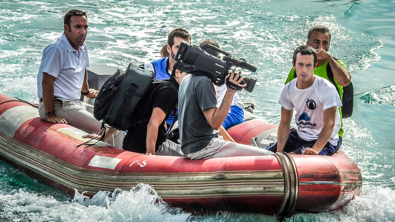 Dinghy Filming