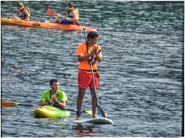 Paddle Boarding & Canoeing in Bahia de La Concha