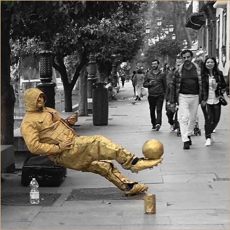 Seville Street Performer