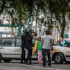 Filming in Stockholm