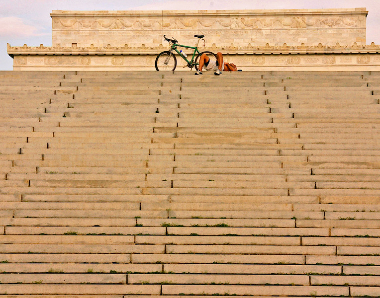 Lincoln Memorial Steps, Washington DC