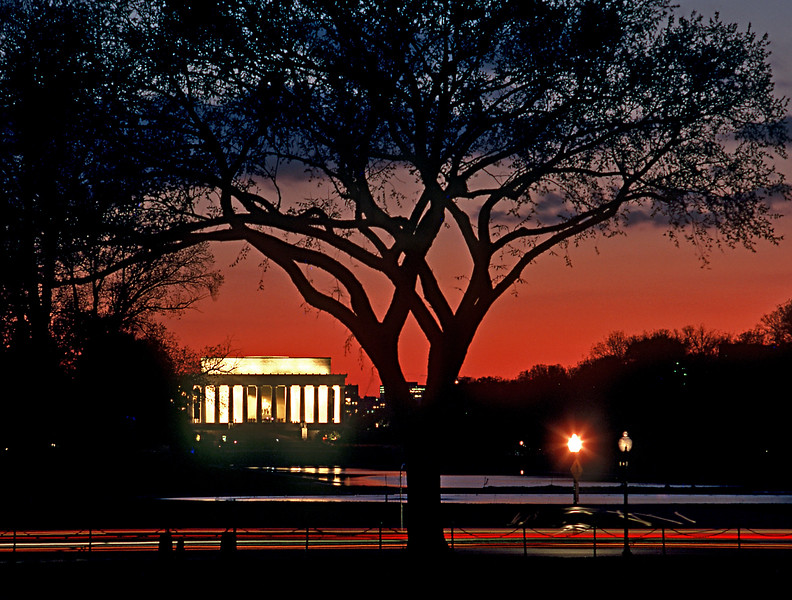 Lincoln Memorial, Washington DC Dusk