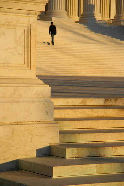 The Supreme Court Steps, Washington DC