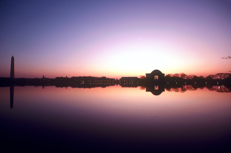 Tidal Basin Dawn, Washington DC