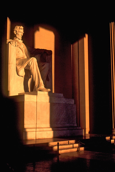 Lincoln memorial, Washington DC, Dawn