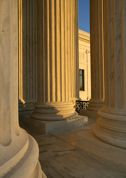 The Supreme Court Columns, Washington DC
