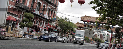 Morning in Chinatown (8x20, 12x30)