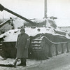 "Standing by a German ""Tiger Tank"""