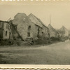 A picture of a street in Wolffling, France.<br /> Note the manur piles in front of each house.