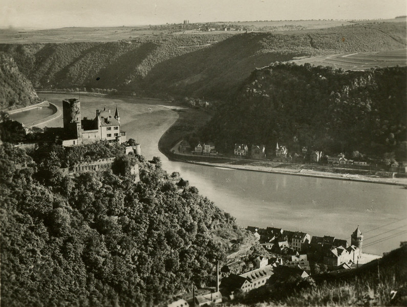 The Rhine near St. Goar