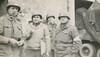 Capt. Van Meter, Col Hibbert, Lt. Weeks, Capt. Borderlon
