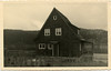 15 May 1945<br /> This is the house I am living in now.  It is a very cute place all finished in notty pine.  It is a resort club house over looking the lake - formed by the damming of the Saale River.<br /> This country reminds me a lot of the Lake of the Ozarks.