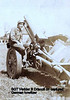 Vedder Driscoll sitting on howitzer AA