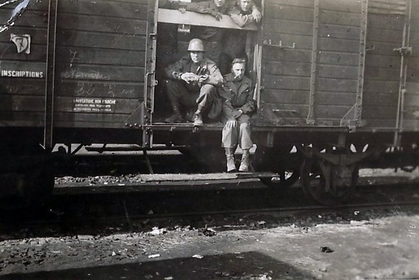 Cattle cars for troops