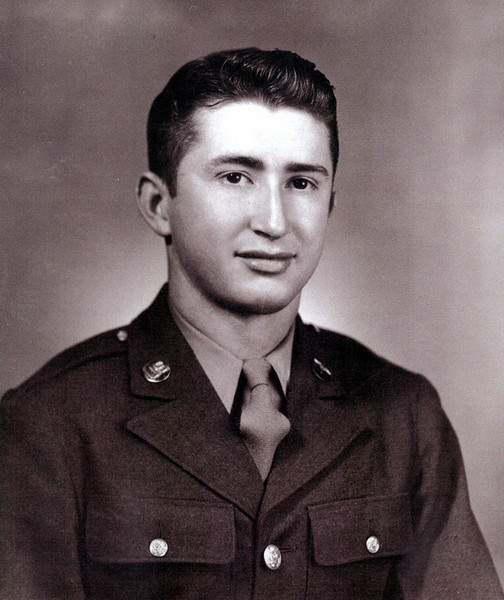 PFC Lee Alexander Magruder<br /> Killed in action on 15 Dec 1944<br /> Hometown: Kevil, KY<br /> <br /> Photo contributed by his nephew, Kevin Magruder.