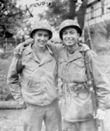 Mel Robinson and Jules Korn
