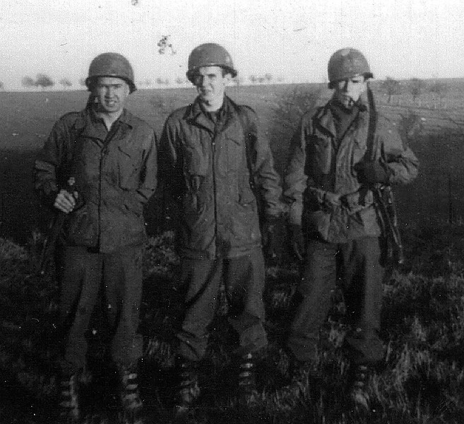 Germany - 1945<br /> William Parod on right.