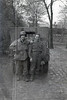 Me and Surabian, Plauen, May 7, 45<br /> [William Saul, Robert Surabian]