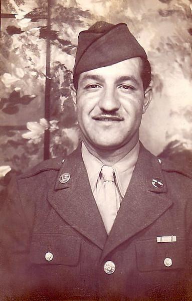 Cpl. John A Ferraro<br /> Forward Observer, Battery C, 912th FA Bn