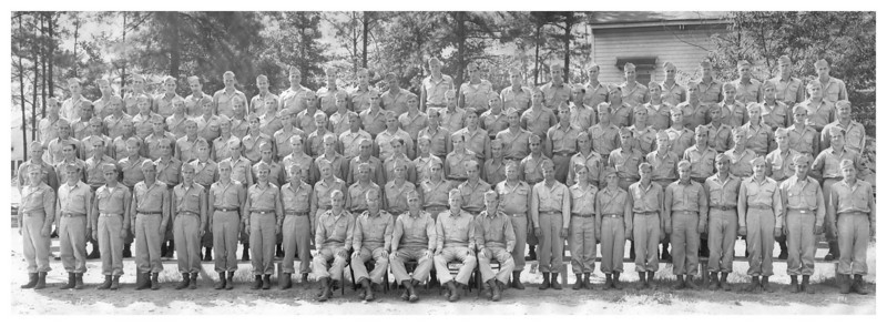 D Company, 345th Infantry Regiment<br /> August 1945<br /> Fort Benning, GA