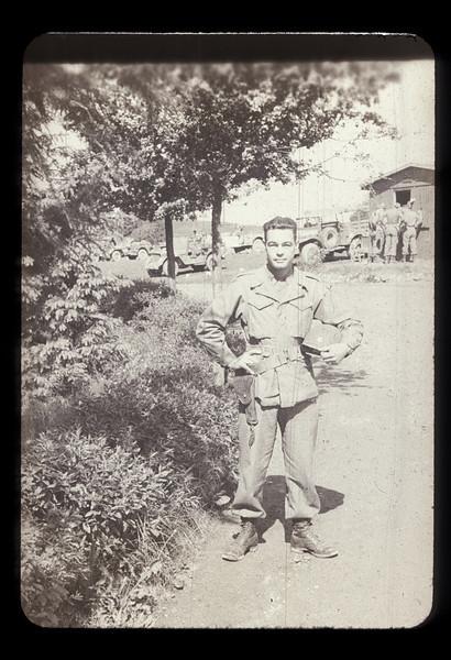 Capt Gooding - 1945<br /> FA HQ Comdt RR ECH